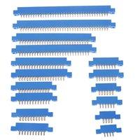 NOWOŚĆ 1 PC 805 Seria 3.96mm Pitch PCB Karta lutownicze Złącza krawędzi 8-72 Pin 16styles Hurt