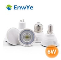 E27 E14 MR16 GU5.3 GU10 Lampada Bombilla LED 6W 220V Bombillas LED Lámpara Spotlight Lampara Spot Light