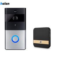Holanvision Smart IP Videoüberwachung WIFI Video-Türsprechanlage Türklingel WIFI Türklingel-Kamera für Apartments IR Alarm Drahtlose Überwachungskamera