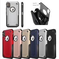 2 in 1 Matte Shell Frosted Hybrid Armor Case Slim Back Cover...