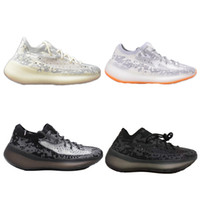 New Kanye West V2 V3 New Sneakers Black Static Reflective Se...