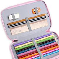 Titulaires 32/52 Titulaires Crayons scolaires Étui Grand Capacité De Colombe Crayon Sac Gel Stylo Coque pour cadeau étudiant Fournitures d'art