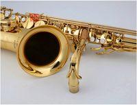 Германия JK Keilwerth ST110 Новое прибытие Bb Тенор саксофон Латунь Золото Лаковые B Плоские Музыкальные инструменты с футляром