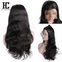 360 Full Lace Human Hair Wigs Brazilian Body Wave Lace Front...