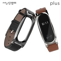 Mijobs Leather Strap for MiBand2 Strap Comfortable xiaomi2 G...