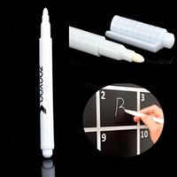Белая жидкая Меловая ручка стираемые ручки маркеры для классной доски классная доска детская наклейка на стену детская комната съемная Виниловая наклейка на стену DBC BH2653