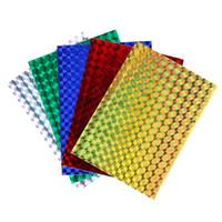 Смешанный цвет голографическая клейкая пленка Флэш-лента для приманки металлические жесткие приманки световой стикер