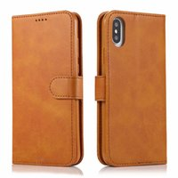 Luxury Leather Magnetic Flip Wallet Case for Iphone 11 Pro X...