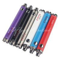 Prevälerent Evod Twist 2 Batteriespannung Variable Ecig Vape Stift 650mAh 900mAh Batterien Verdampfer-Stifte Elektronische Zigarette für Ego 510 Fadenkassettenzerstäubung