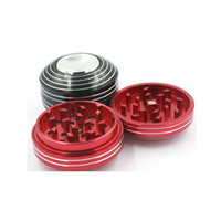 Aluminium alloy Finger Spinner Smoke Grinder 3 Parts Metal H...