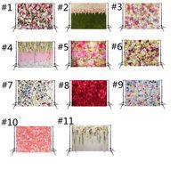 3D Rosa Sfondo panno decorazione della festa nuziale Sfondo Fotografia panno simulato Bonus per foto di nozze Studio HHA1044