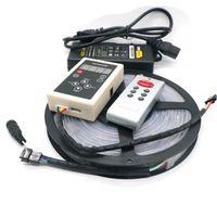 30 M / grup IP20 / 65/67 6803 Rüya Sihirli Renk 5050 Dijital LED Şerit DC12V 30LED / m Adresli Led Akıllı LED Şerit
