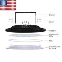 Neue Led-Leuchten UFO LED Wärmeableitung 8000LM Ultra Thin Hoch Schuppen Lampe Große Wohnzimmer Supermarkt USA-Lager Kostenloser Versand 100W