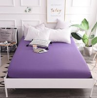 100% Fitted Sheet Mattress Cover Bedding With Elastic twin f...