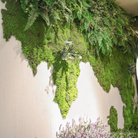 10 квадратный метр Искусственный зеленый мох ковыль растения Искусственный Газоны Turf Ковры для сада Главная партия украшения