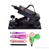 Automatische sex machine gun kanon vrouwelijke masturbatie speelgoed voor vrouwen met dildo's accessoires bewegingssnelheid: 0-420 keer / minuut