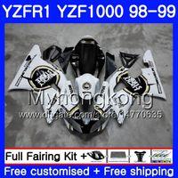Karosserie Glücksstoß für YAMAHA YZF R 1 YZF1000 YZF-R1 1998 1999 Rahmen 235HM.39 YZF-1000 YZF R1 98 99 YZF 1000 YZFR1 98 99 Karosserieverkleidung