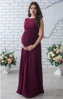 Beiläufige Kleider Fashion Solid Color Sleeveless Frauen Designer Mutterschaft Kleider Casual Weibliche Kleidung Spitze Panelled Frauen