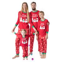 مطابقة الأسرة مطابقة تتسابق زي ملابس الأسرة عيد الميلاد ملابس نوم الآباء ابنة الابن عيد الميلاد ملابس نوم للأطفال رجال سيدات Sleepwea