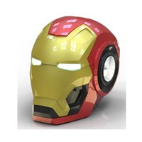 Newest Iron Man Bluetooth Speaker Golden Mark Helmet Mini Wi...