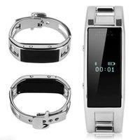 Smart Watch D8 Bluetooth-Fitness-Tracker-Kamera Erinnerung-Smart-Armband Edelstahl Tragbare Armbanduhr Für Android iPhone Phone