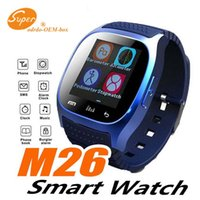 M26 smartwatch Wirelss Bluetooth Smart Watch Phone Bracelet Camera Remote Control Anti-lost alarm Barometer V8 A1 watch for IOS Android