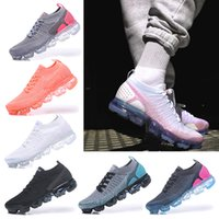 Nike Air VaporMax 2018 Flyknit 2.0 New Hot FK2.0 Mens Air Office Running Chaussures Designer Chaussures Femmes Athlétique Sport En Plein Air Marche Sneakers Taille 36-40