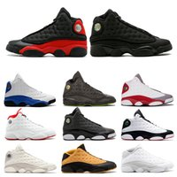 13 New 13s Men He Got Game Basketball Shoes Black Cat Melo C...