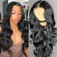 Body Wave 360 Lace Wigs Human Hair With Baby Hair Unprocesse...