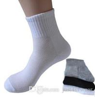 Gli uomini casuali Accessori Dimensioni Calze a rete della caviglia del cotone di colore solido dei calzini di modo maschio primavera-estate gratuiti per maschio libero di trasporto
