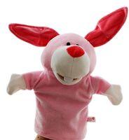 Nette Handpuppe Tier-Plüsch-Puppe Story Telling Baby-Jungen-Spielzeug pädagogisches Spielzeug Weihnachten Spielzeug-Geschenk