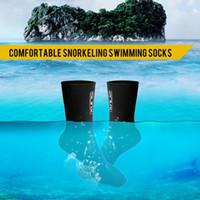 3MM الغوص Scubas التزحلق سباحة سوك مكافحة الاحترار Scratche الغوص الجوارب على شاطئ التزحلق سباحة الغطس المياه الرياضة