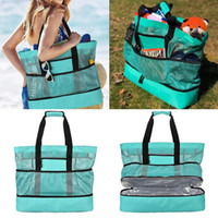 Multi-functional Beach Picnic Bag Ice Bag Insulation