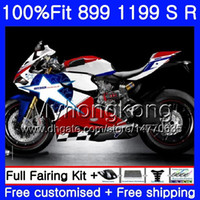 Injection For DUCATI 899 1199 Panigale S R 2012 2013 2014 2015 2016 325HM.37 899R 1199R 899S 1199S 12 13 14 15 16 stock white OEM Fairing