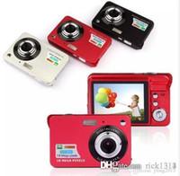 """Mais novo 18MP MAX 1280X720P HD Vídeo Super Gift Câmera Digital com Sensor 3MP 2.7 """"LCD 8x Zoom Digital e Li-Battery"""