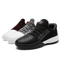 2019 new basketball shoes sports casual shoes black gray col...