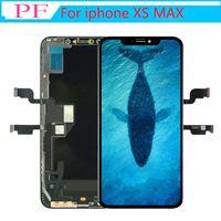 Pantalla LCD para iPhone XS MAX Pantalla LCD TFT Parte de reparación Pantalla táctil Digitalizador Asamblea completa Reemplazo 100% Prueba Sin píxeles muertos