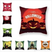 Polyester soft Halloween Carnival series pillowcase creative...