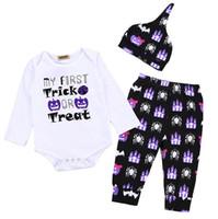 Pudcoco 3PCS bebés recién nacidos largas de la ropa de algodón suave de la manga para bebé mameluco del bebé del equipo del otoño Pantalones niñas pequeñas