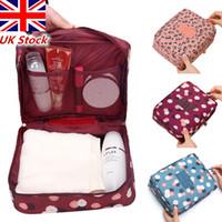 Grande borsa per il trucco cosmetica Hang Travel Wash Articoli da toeletta Organizer Custodia per il bagno Borse da viaggio multifunzione