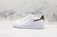 New Forces Low Retro Elfenbein Schlange Weiß 1 One Herren Designer Schuhe für Herren Damen Forced Sports Air Sneakers Trainer Größe 36-45