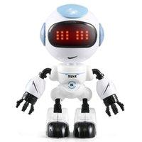 JJRC R8 Head Touch Control Mini Begleitung Roboter, Tanz Tanz Early Education Toy, DIY Geste Legierung Körper, Party Weihnachten Kid 'Geburtstagsgeschenk