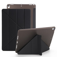 Caso do iPad Silicone Soft Back para iPad Pro10.5 2019 Capa Ipad23 10.2 Mini4 5 PU Couro Smart Cover Case Quente
