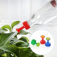 Gartenpflanze Bewässerung Anlage Spray-Kopf-Softdrink-Flaschen-Wasser-Dose Top Waterers Sämling Bewässerungsanlage