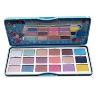 18 Colors Clover Eyeshadow Palette Make Up Maquiagem Tool Sh...