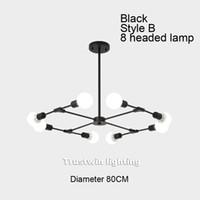 Modern rotatable LED pendant lamp lights hanging lamp Europe...