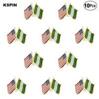 США Нигерия лацкан булавка флаг значок брошь булавки значки