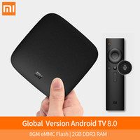 Xiaomi MI TV Box 3 스마트 4K 울트라 HD 2G 8G Android 8.1 WiFi Google Cast Netflix 미디어 플레이어 IPTV 세트