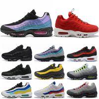 Nuevos Rrrival Hombres Mujeres de los zapatos corrientes de neón roja de la órbita solar de la vuelta del Futuro Negro para hombre blancas entrenador de atletismo las zapatillas de deporte Tamaño 5,5-11