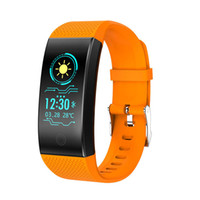 QW18 Smart-Armband Blut-Sauerstoff-Blutdruck-Puls-Monitor Wasserdichte Smart Watch Fitness Tracker Armbanduhr für iPhone und Android